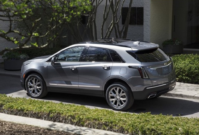 2021 Cadillac XT5 changes