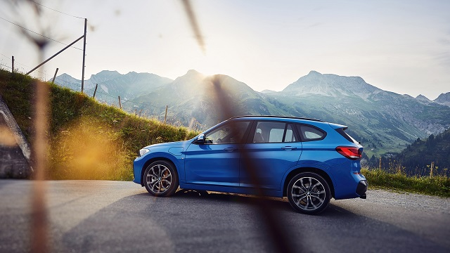 2021 BMW X1 facelift