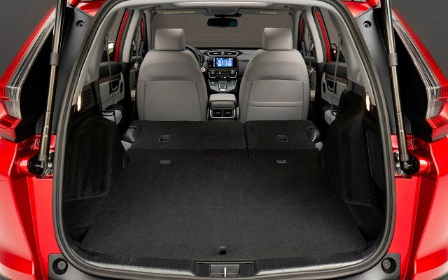 2021 Honda CR-V cargo space