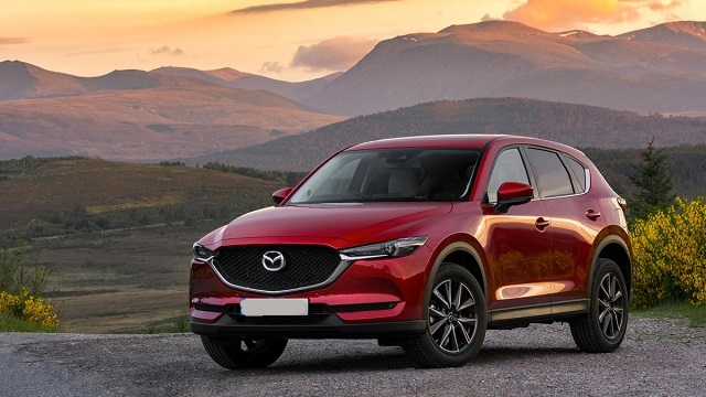 2021 Mazda CX-5 facelift