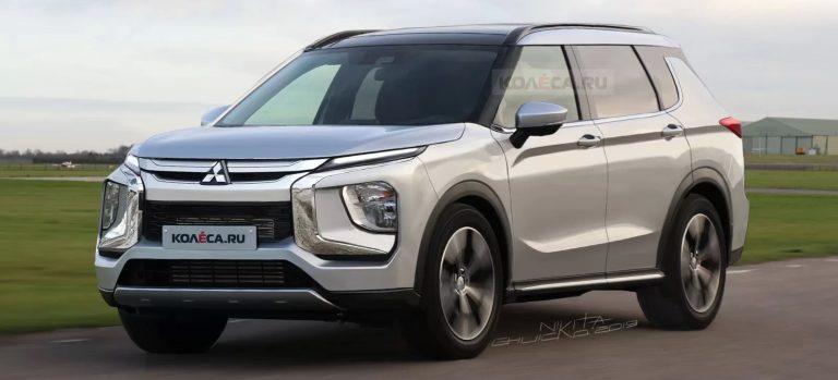 2021 Mitsubishi Outlander render