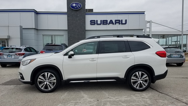 2021 Subaru Ascent pearl white