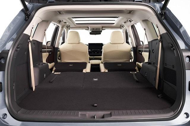 2021 Toyota Highlander cargo space