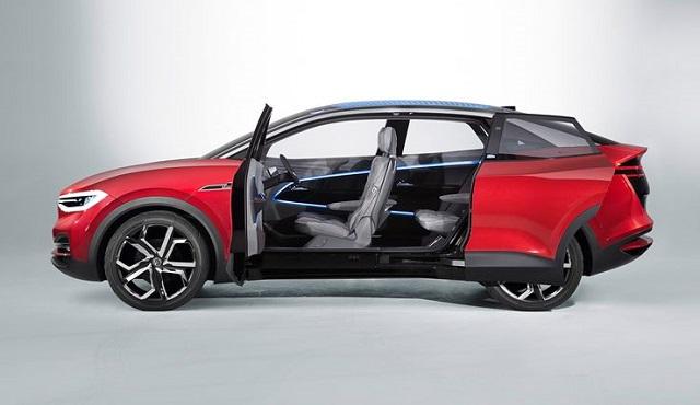 2021 VW ID4 sliding doors