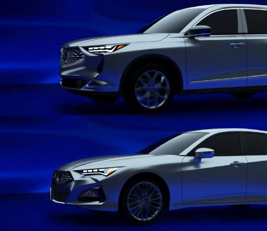 2021 Acura MDX and TLX
