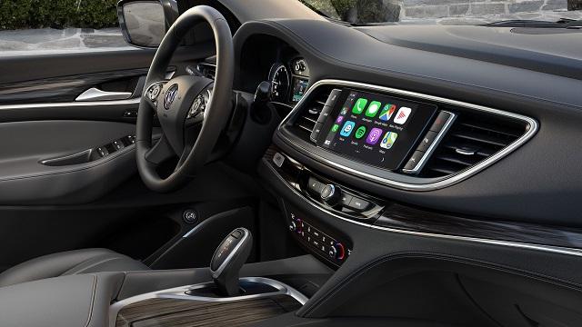 2021 Buick Enclave interior