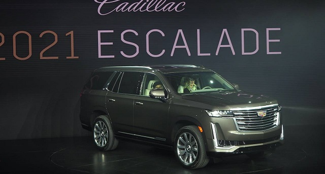 2021 Cadillac Escalade debut