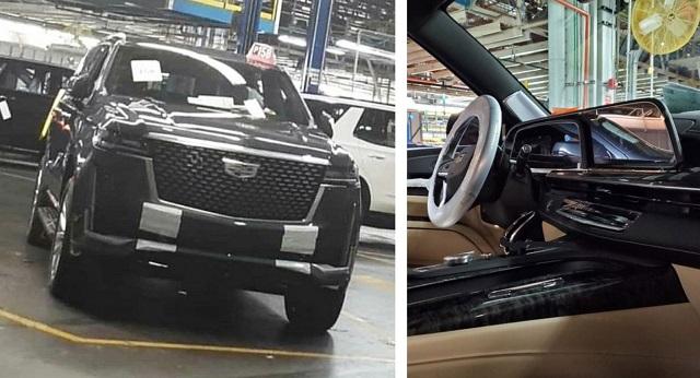 2021 Cadillac Escalade teaser