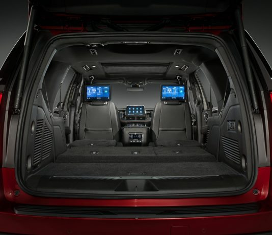 2021 Chevy Tahoe cargo space