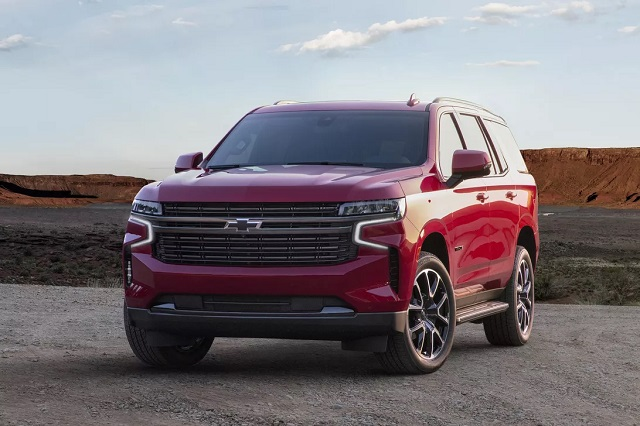 2021 Chevy Tahoe rst