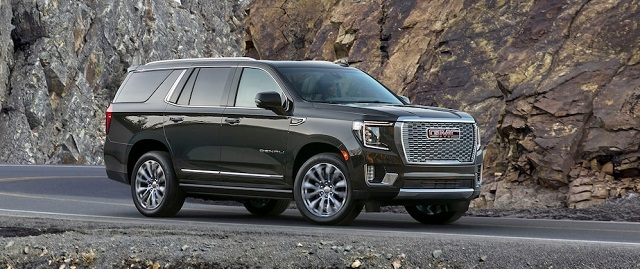 2021 GMC Yukon changes