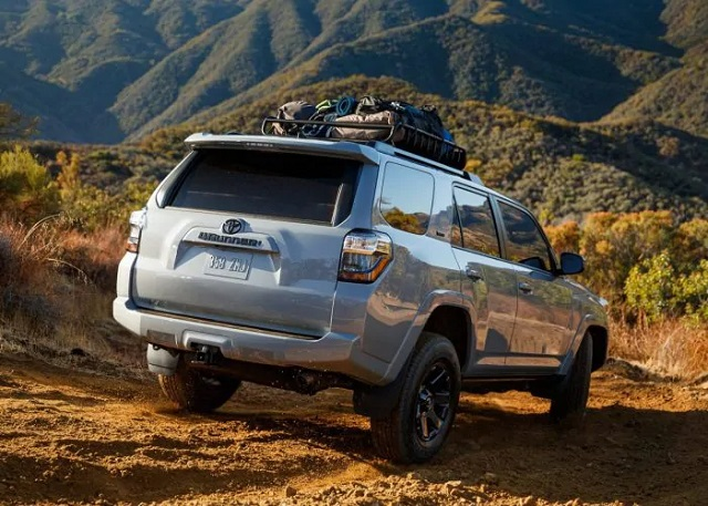 2021 Toyota 4Runner off-road