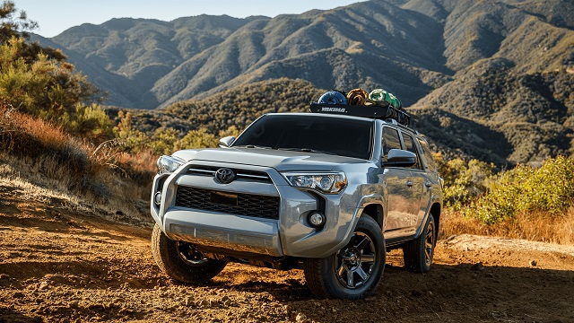 2021 Toyota 4Runner trail edition