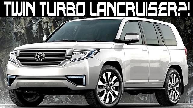 2021 Toyota Land Cruiser new engine
