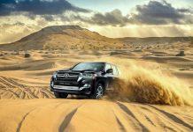 2021 Toyota Land Cruiser off road