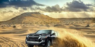 2021 Toyota Land Cruiser off road