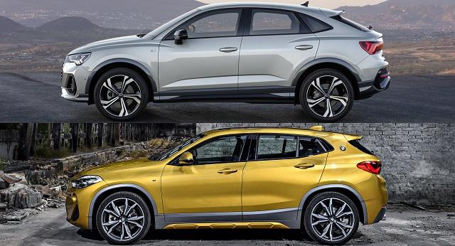 2021 BMW X2 vs audi q3
