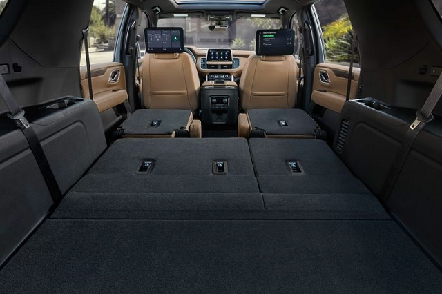 2021 Chevy Suburban cargo space