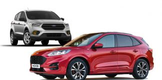 2021 Ford Escape changes