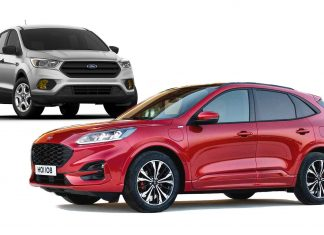 2021 Ford Escape changes