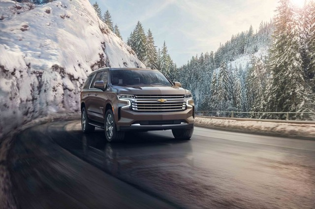 all-new 2021 Chevy Suburban