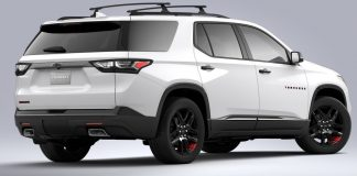 2021 Chevrolet Traverse Redline Edition