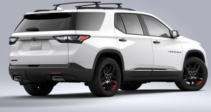 2021 Chevrolet Traverse Redline Edition