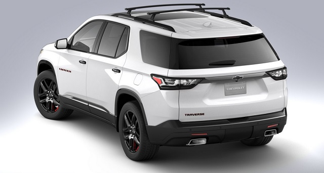 2021 Chevrolet Traverse Redline Edition details