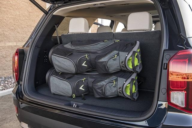 2021 Hyundai Santa Fe cargo space