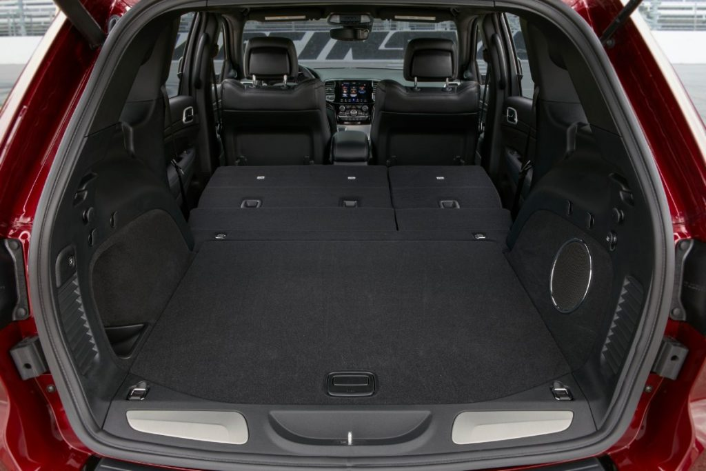 2021 Jeep Cherokee cargo space