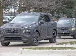 2021 Nissan X-Trail spy photos