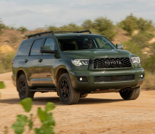 2021 Toyota Sequoia trd pro