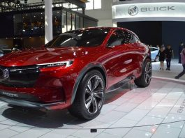 2021 Buick Enspire premiere