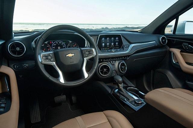 2021 Chevy Blazer interior