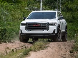 2021 GMC Acadia changes