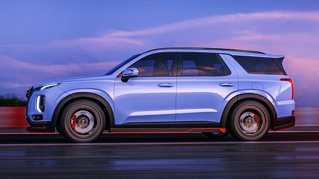 2021 Hyundai Palisade n sport