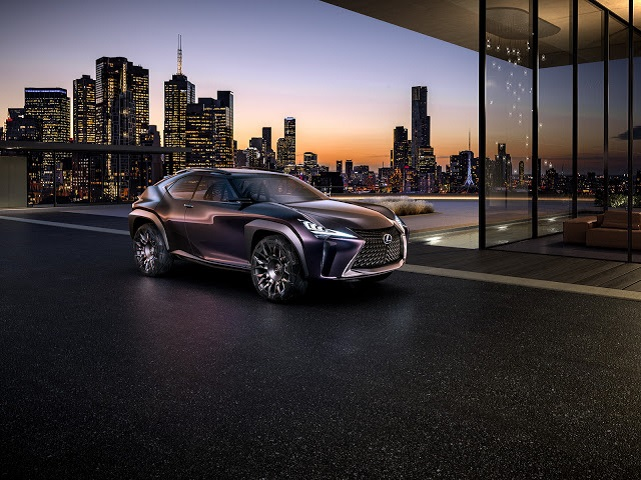 2021 Lexus NX 300 concept