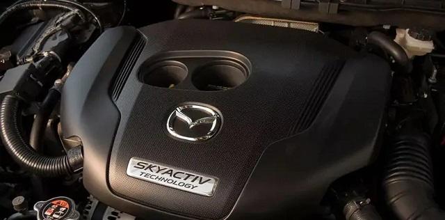 2021 Mazda CX-9 skyactiv engine