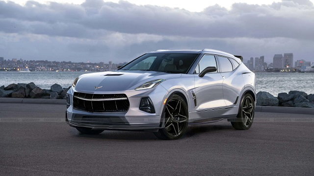 2022 Chevy Corvette SUV concept