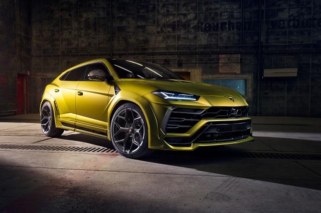 2021 Lamborghini Urus Superleggera concept
