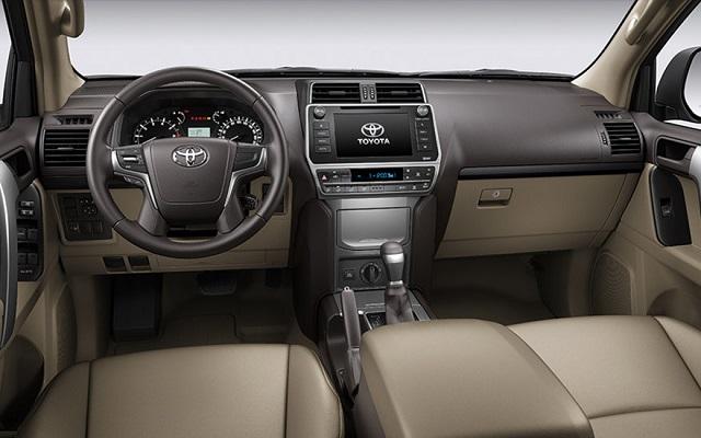 2021 Toyota Land Cruiser Prado interior