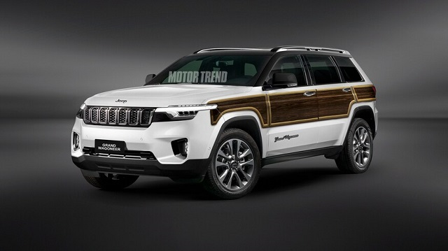 2022 Jeep Grand Wagoneer render