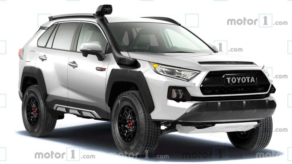 2022 Toyota RAV4 TRD Pro render by Motor1