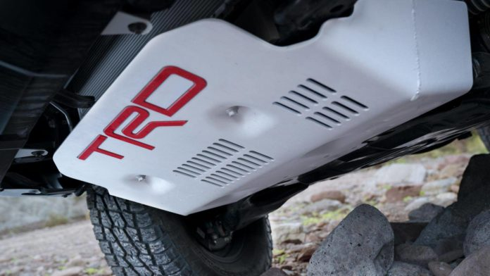 2022 Toyota RAV4 TRD Pro skidplates