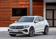 2022 VW Tiguan Coupe concept