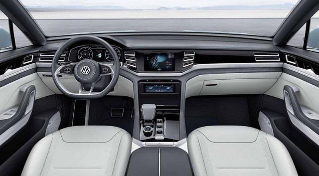 2022 VW Tiguan Coupe interior