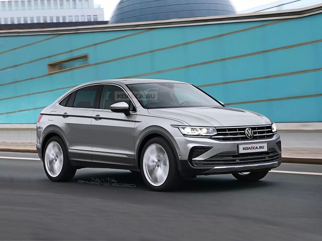 2022 VW Tiguan Coupe release date