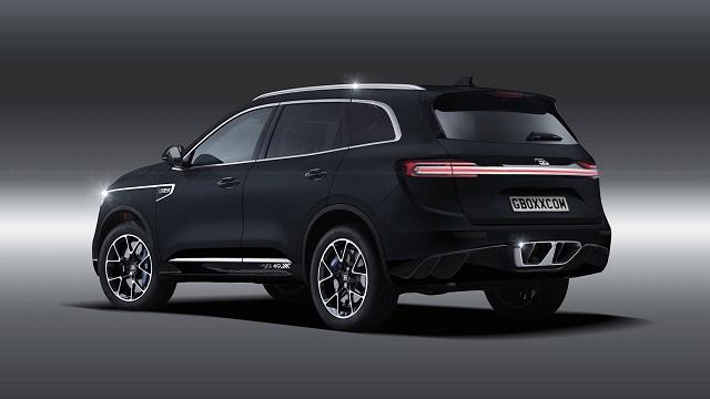 2023 Bugatti SUV concept