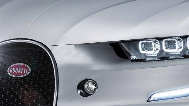 2023 Bugatti SUV front grille