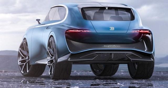 2023 Bugatti SUV